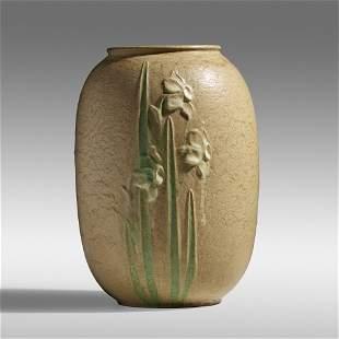 Ruth Erickson for Grueby Faience Company, Rare vase