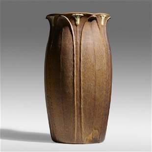 Grueby Faience Company, Rare floor vase