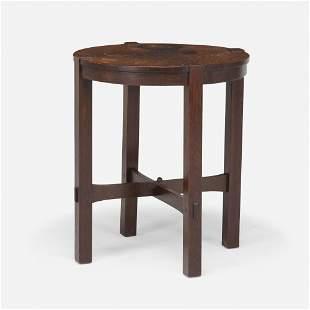 Gustav Stickley, Early lamp table, model 436