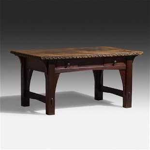 Gustav Stickley, Early desk, model 409