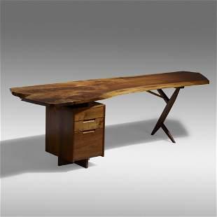 George Nakashima, Special Single Pedestal desk