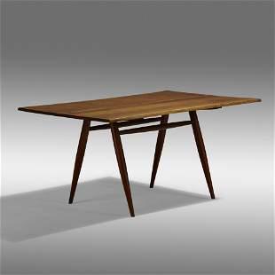George Nakashima, Turned Leg dining table