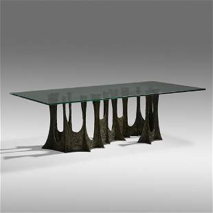 Paul Evans, Stalagmite dining table, model PE-102