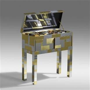 Paul Evans, Rare Cityscape samples chest