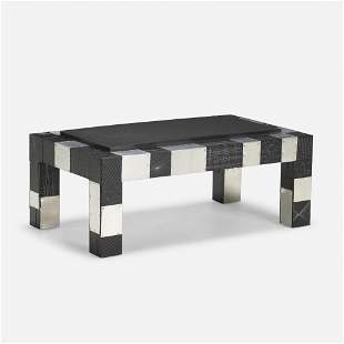 Paul Evans, Prototype Argente coffee table