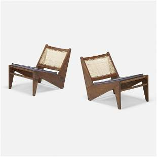 Pierre Jeanneret, Kangourou chairs, pair