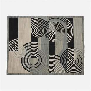 Contemporary, French Accents flatweave carpet