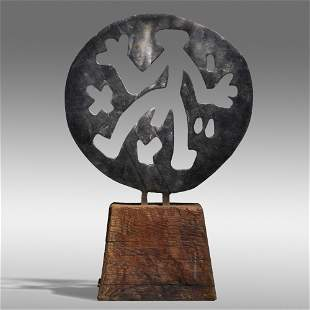 A. R. Penck, Standart in Weltenrund
