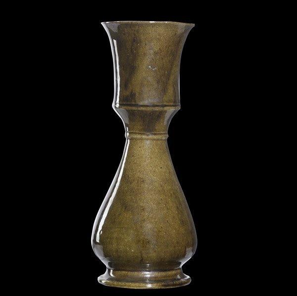 4: GEORGE OHR Tall vase
