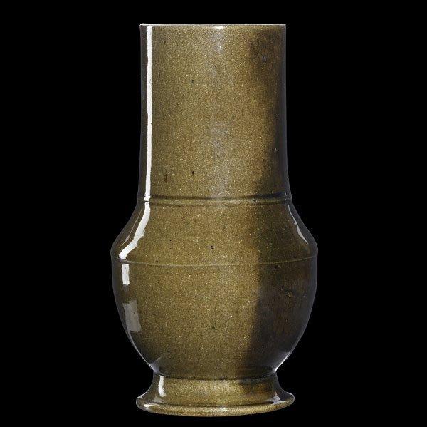 5: GEORGE OHR Tall vase