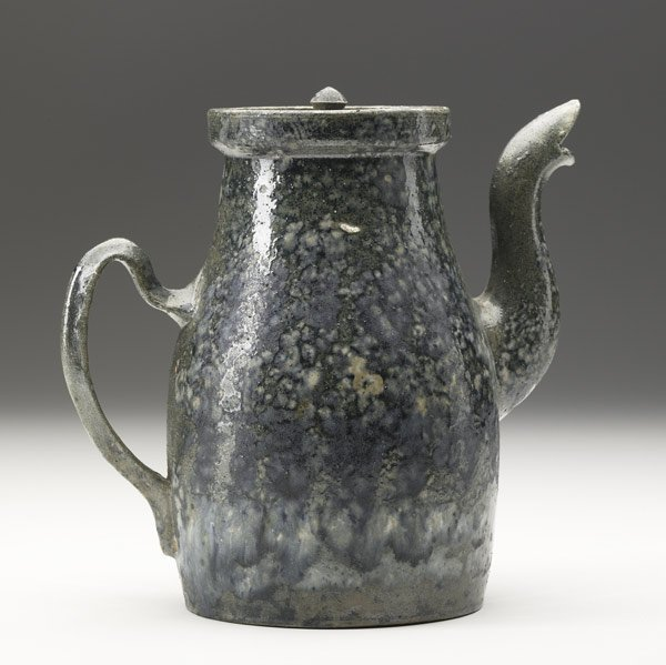 6: GEORGE OHR Rare coffee pot