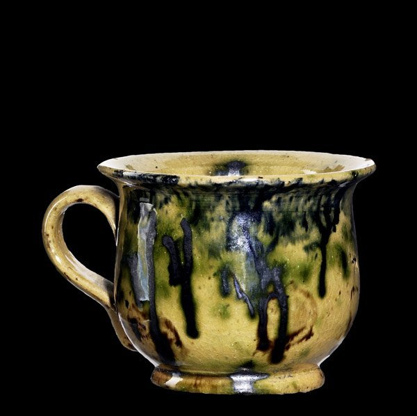 8: GEORGE OHR Chamber pot novelty ware