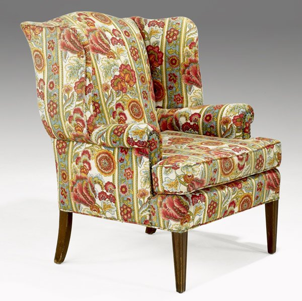 521: EDWARD WORMLEY / DUNBAR Wing chair