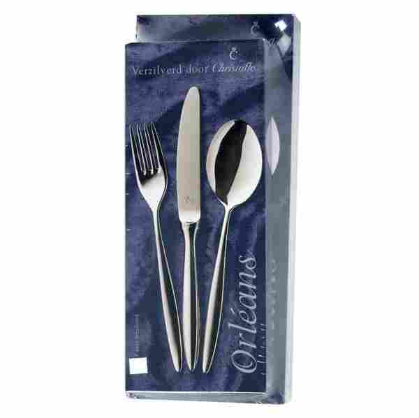 163: CHRISTOFLE ORLEANS FLATWARE