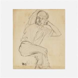 Alexander Calder, Portrait of Walton B. McDaniel