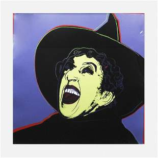 Andy Warhol, Witch (from the Myths series)