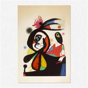 Joan Miró, L'Aigrette Rouge