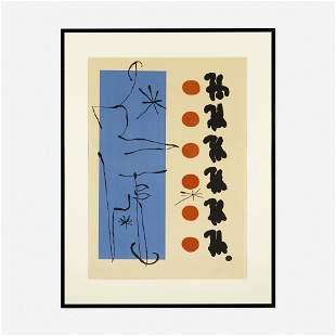 Joan Miró, Rouge et Bleu