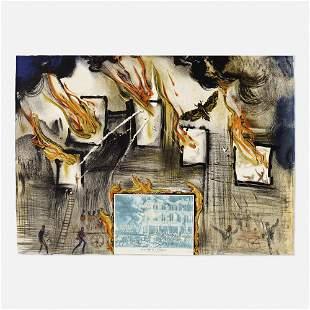 Salvador Dalí, Fire, Fire, Fire