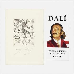 Salvador Dalí, A Christmas card to the Lucas family