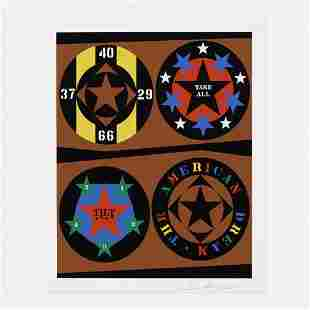 Robert Indiana, Untitled (from The American Dream Book)