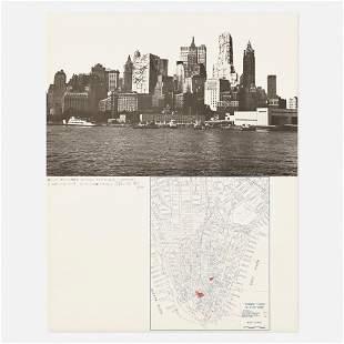 Christo and Jeanne-Claude, Lower Manhattan