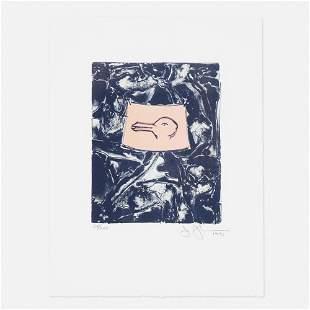 Jasper Johns, Untitled (from Harvey Gantt Portfolio)