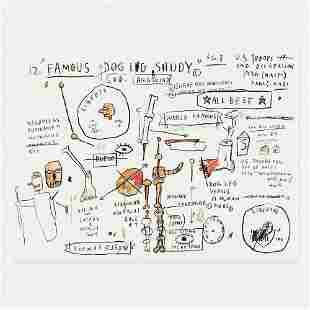 Jean-Michel Basquiat, Dog Leg Study