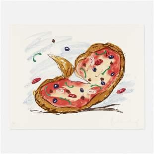 Claes Oldenburg, Pizza / Palette