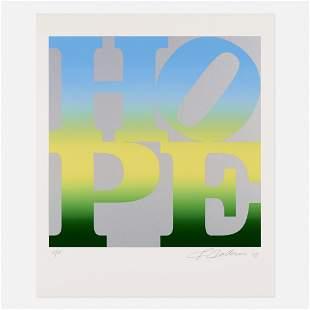 Robert Indiana, Summer (from 4 Seasons of Hope)