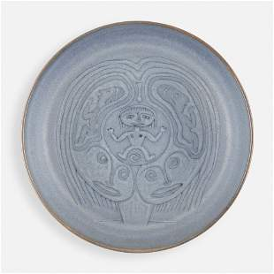 Edwin and Mary Scheier, Early low bowl