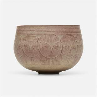 Edwin and Mary Scheier, Early bowl