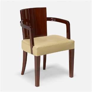 French, Art Deco armchair