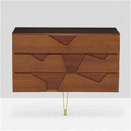 After Gio Ponti, Wall-mounted cabinet