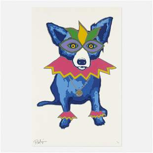 George Rodrigue, Party Animal: White
