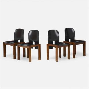 Afra and Tobia Scarpa, Chairs model 121, set of four