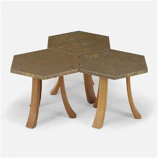 Harvey Probber, Occasional tables, set of three