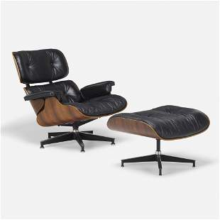 Charles and Ray Eames, 670 lounge chair and 671 ottoman