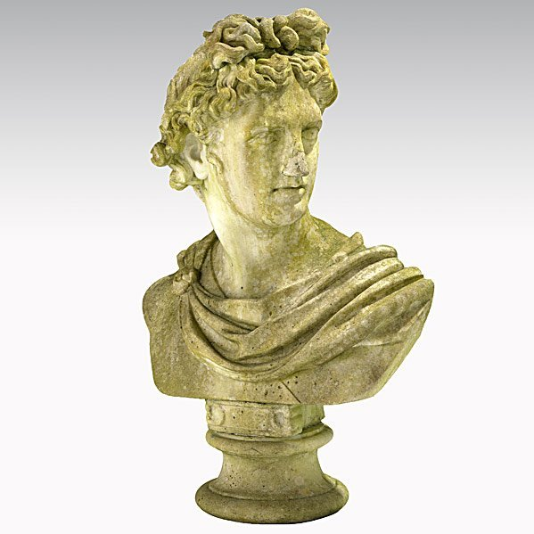 24: MARBLE BUST OF APOLLO