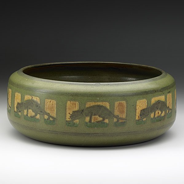 1: ARTHUR HENNESSEY; MARBLEHEAD Exceptional bowl