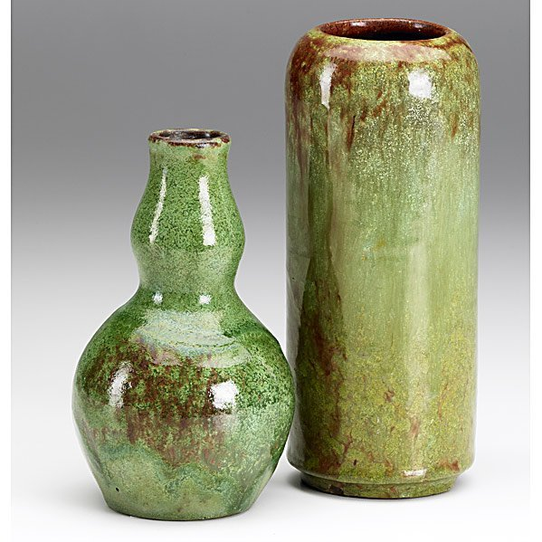 6: W.J. WALLEY Two vases