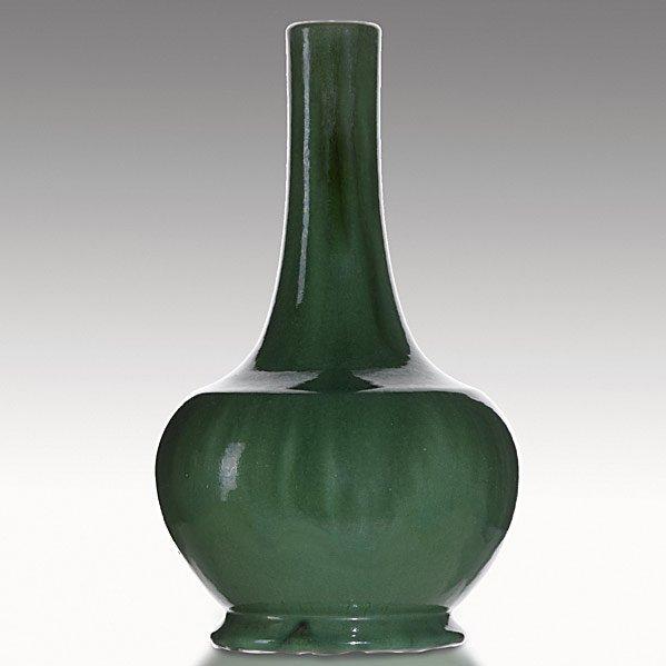 7: W.J. WALLEY Semi-matte green bottle