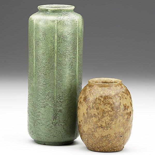 15: GRUEBY Two vases