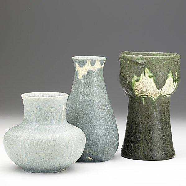 16: GRUEBY Three vases