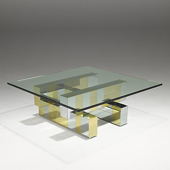 509: PAUL EVANS Cityscape coffee table