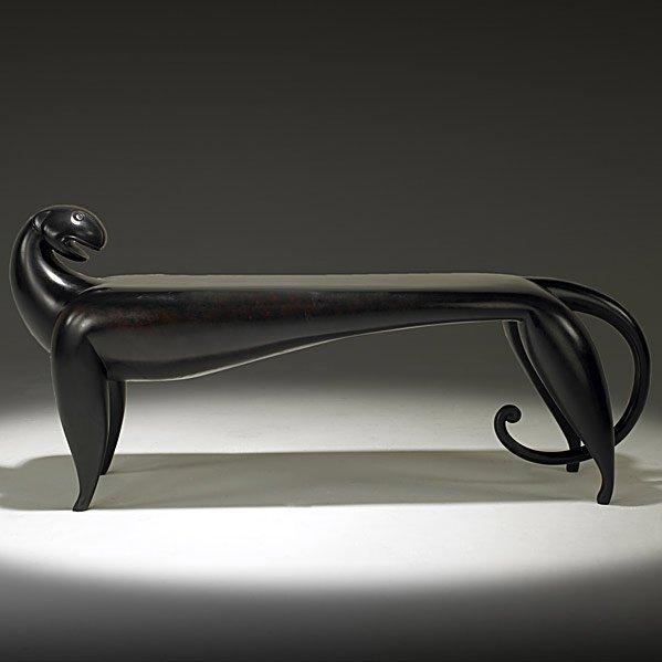 543: JUDY KENSLEY McKIE Jaguar bench
