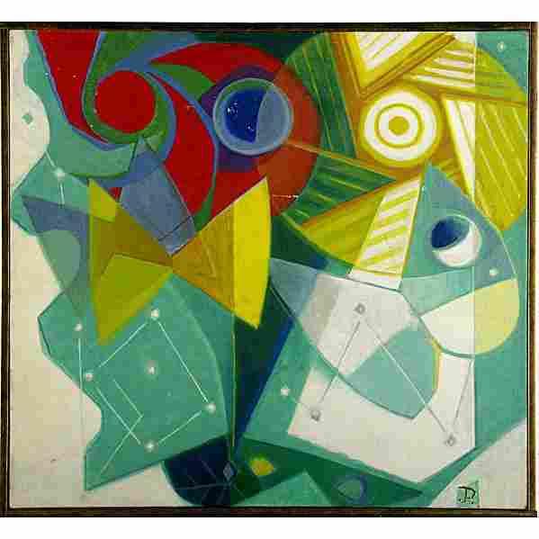 """TOMMI PARZINGER Oil on canvas """"Butterflies"""""""