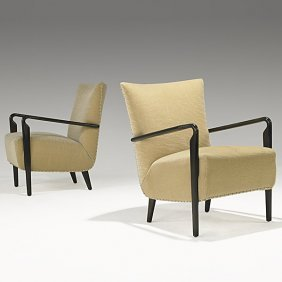 GUGLIELMO ULRICH (Attr.) Pair Of Lounge Chairs