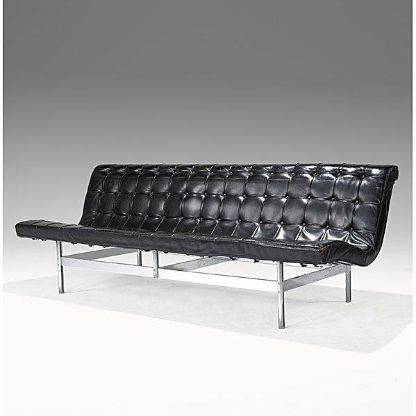 716: KATAVOLOS, LITTEL & KELLEY; LAVERNE Armless sofa