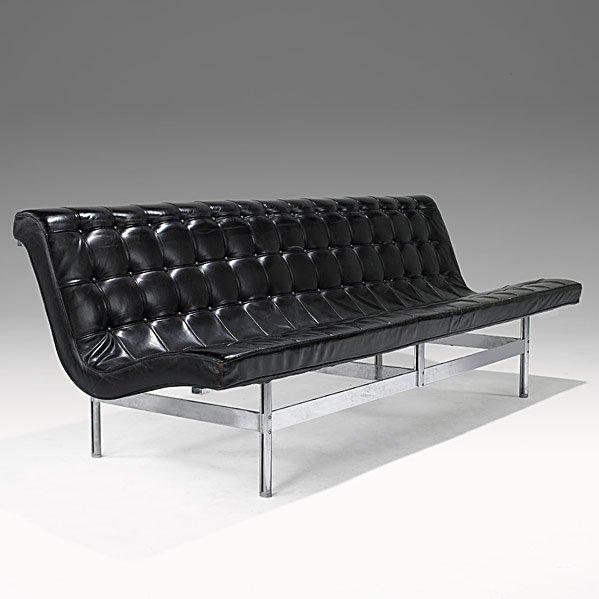 717: KATAVOLOS, LITTEL & KELLEY; LAVERNE Armless sofa